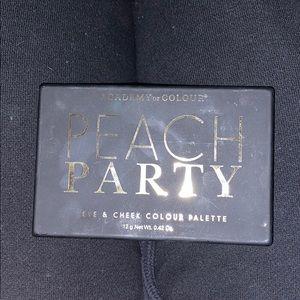 Peach Party Eyeshadow palette.